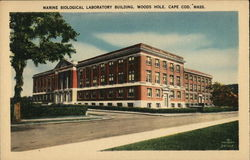 Marine Biological Laboratory Building Postcard