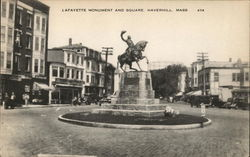 Lafayette Monument and Square