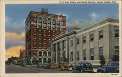 U.S. Post Office and Hotel Yancey