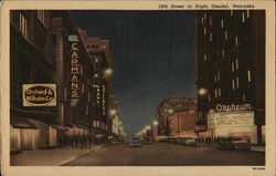 16th Street at Night