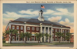 Don L. Love Memorial Library, University of Nebraska