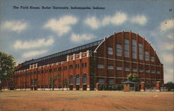 The Field house, Butler University Postcard