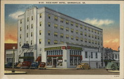 Dixie-Hunt Hotel Postcard