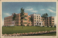 Buehler Memorial Home Postcard