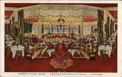 Edgewater Beach Hotel - Marine Dining Room