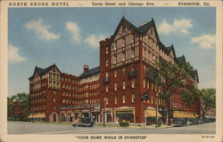 North Shore Hotel Postcard