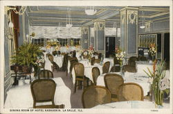 Dining Room of Hotel Kaskaskia