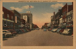 Minnesota Ave. West From 4th St. Postcard