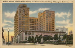 Rodney Square, Public Library and Delaware Trust Building