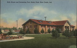 Bath House and Swimming Pool, Baker Park