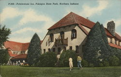 Potawatomi Inn. Pokagon State Park