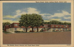 Beech House Hotel, Indiana Beach, Shafer Lake