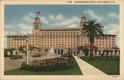 The Breakers Hotel Postcard