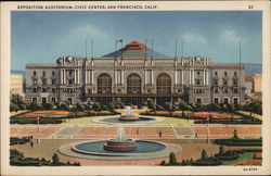 Exposition Auditorium, Civic Center