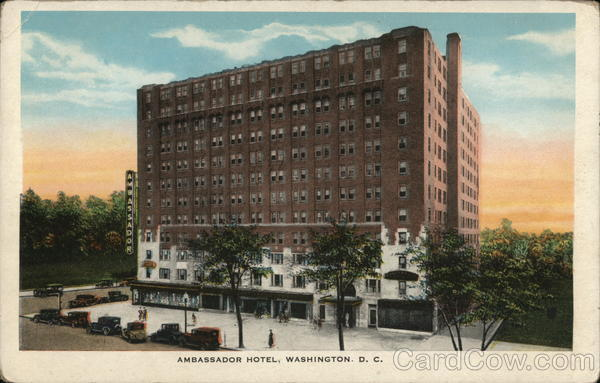 Ambassador Hotel Washington District of Columbia