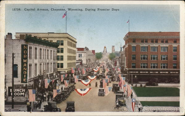 Capitol Avenue, During Frontier Days Cheyenne Wyoming