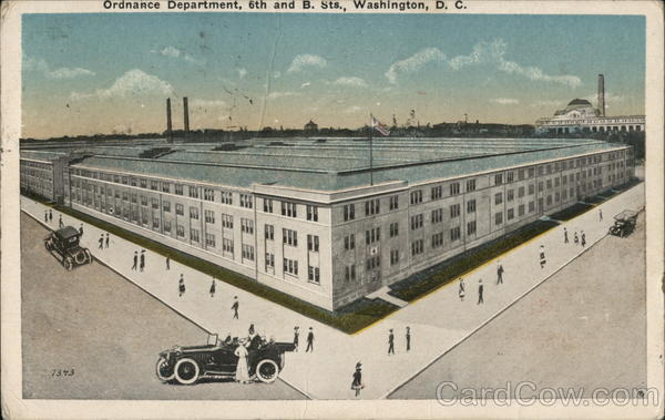 Ordnance Department Washington District of Columbia
