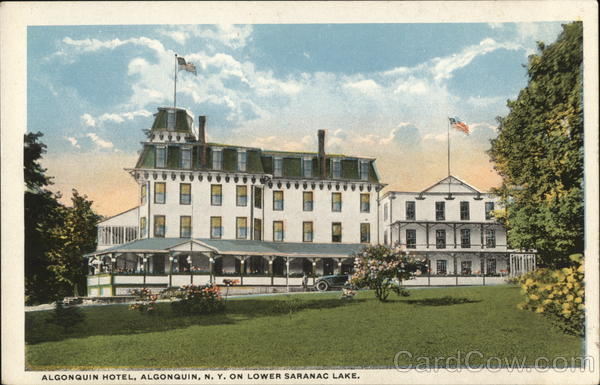 Algonquin Hotel Saranac Lake New York