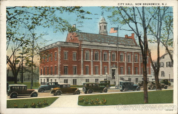 City Hall New Brunswick New Jersey