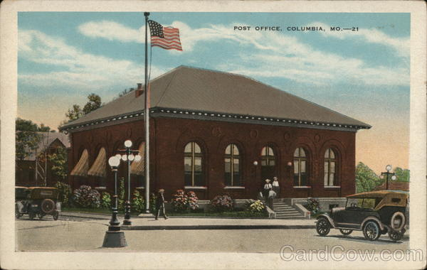 Post Office Columbia Missouri