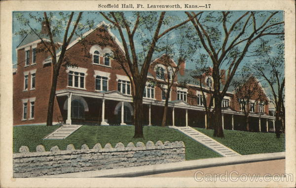 Scoffield Hall Fort Leavenworth Kansas