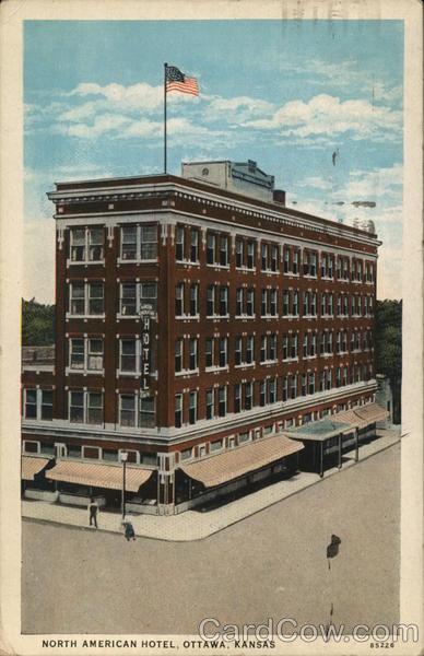 North American Hotel Ottawa Kansas
