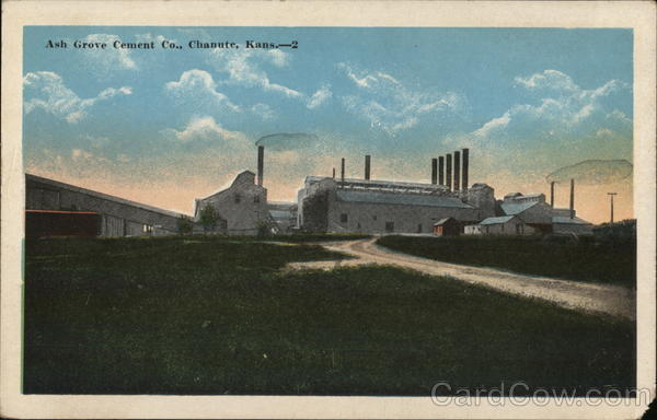 Ash Grove Cement Co. Chanute Kansas