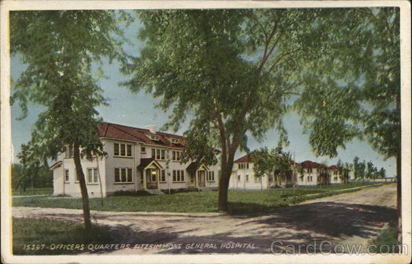 Officers Quarters, Fitzsimmons General Hospital Denver Colorado