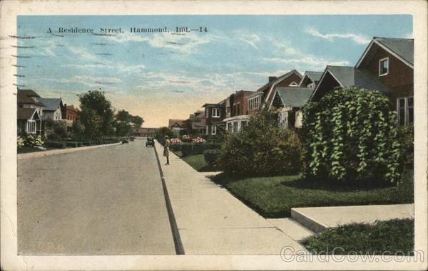 A Residence Street Hammond Indiana