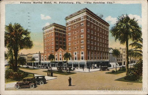 Princess Martha Hotel St. Petersburg Florida