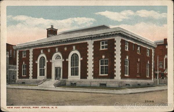 New Post Office Port Jervis New York
