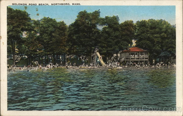 Solomon Pond Beach Northboro Massachusetts