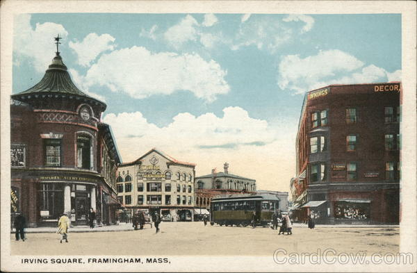 Irving Square Framingham Massachusetts