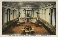 Gold Room, Hotel Lafayette, 16th and Eye Streets, N. W.