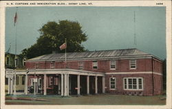 U. S. Customs and Immigration Bldg. Postcard