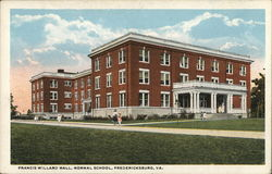 Francis Willard Hall, Normal School