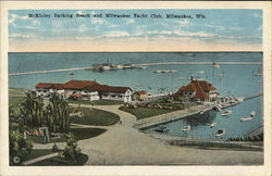 McKinley Bathing Beach and Milwaukee Yacht Club