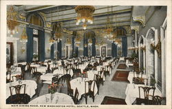 Main Dining Room, New Washington Hotel