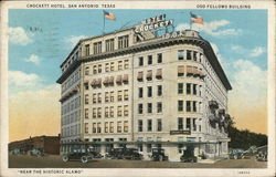 Crockett Hotel and Odd Fellows Building