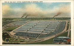 One of the Many Cotton Warehouses at Memphis