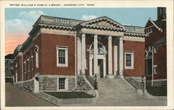 Mayne William's Public Library Postcard