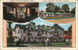Lobby of Lady Lafayette Hotel, Lady Lafayette Tourists' Cottages