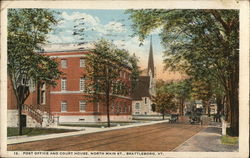 Post Office and Court House, North Main St.