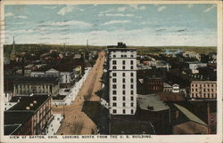 View of Dayton, Looking North from the U. B. Building