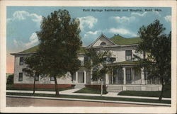 Enid Springs Sanitorium and Hospital Postcard