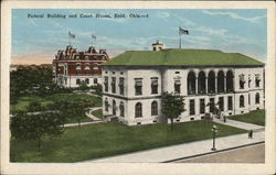 Federal Building and Court House Postcard