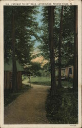 Pathway to Cottages, Lutherland