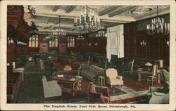 The English Room, Fort Pitt Hotel