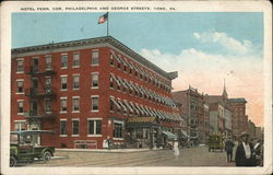 Hotel Penn. Cor. Philadelphia and George Streets