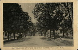 East Main Street from Kingston Avenue